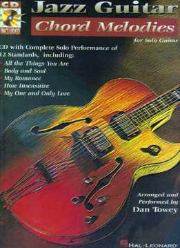 Dan Towey - Jazz Guitar Chord Melodies For Solo Guitar
