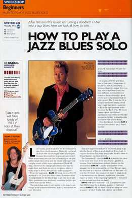 Dave Kilminster - How To Play A Jazz Blues Solo