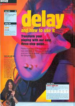Guthrie Govan - How To Use Delay