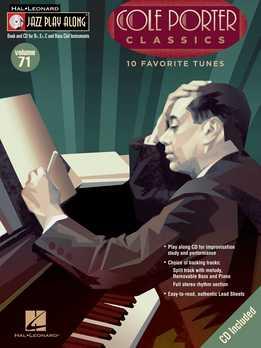 Jazz Play-Along Vol. 71 - Cole Porter Classics
