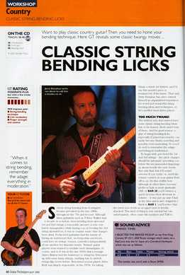 Lee Hodgson - Classic String Bending Licks