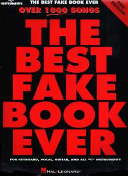 The Best Fake Book Ever - Over 1000 Songs