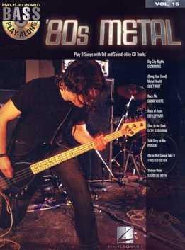 Bass Play-Along Vol. 16 – 80s Metal