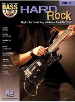 Bass Play-Along Vol. 7 – Hard Rock