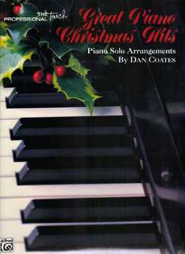 Dan Coates, Carol Cuellar - Great Piano Christmas Hits