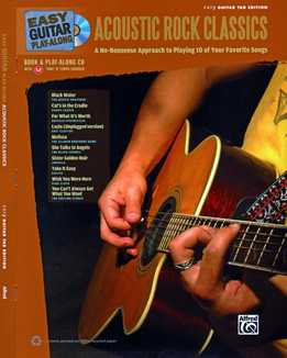 Easy Guitar Play-Along – Acoustic Rock Classics