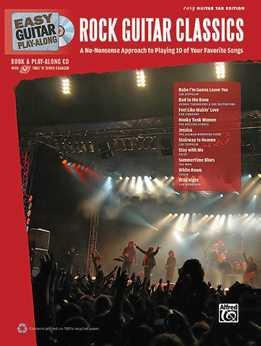 Easy Guitar Play-Along - Rock Guitar Classics