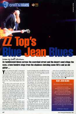 Geoff Whitehorn - ZZ Top - Blue Jean Blues