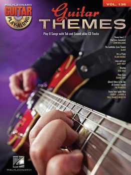 Guitar Play-Along Vol. 136 - Guitar Themes