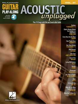 Guitar Play-Along Vol. 37 - Acoustic Unplugged