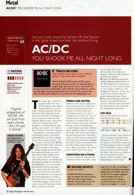 Guthrie Govan - ACDC - You Shook Me All Night Long