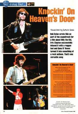 Guthrie Govan - Easy Like - Bob Dylan (Eric Clapton, Guns N' Roses) - Knockin' On Heaven's Door