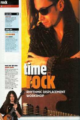 Guthrie Govan - Time To Rock - Rhythmic Displacement Workshop