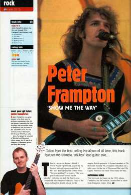 Jamie Humphries - Peter Frampton - Show Me The Way