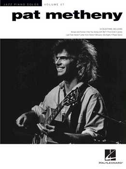 Jazz Piano Solos Vol. 57 - Pat Metheny