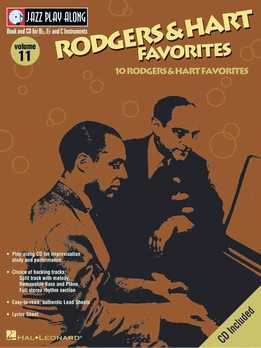 Jazz Play-Along Vol. 11 - Rodgers & Hart Favorites