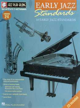 Jazz Play-Along Vol. 24 - Early Jazz Standards