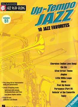 Jazz Play-Along Vol. 51 - Up Tempo Jazz