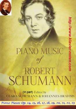 Роберт Шуман - Музыка для фортепиано соло, Op.14-23