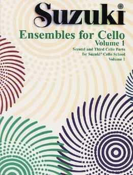 Suzuki Ensembles For Cello Vol. 1