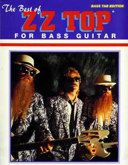 The Best Of ZZ Top For Bass Guitar
