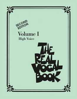 The Real Vocal Book Vol. 1 - High Voice