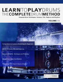 Daryl Ingleton - Learn To Play Drums Vol. 1 - The Complete Drum Method