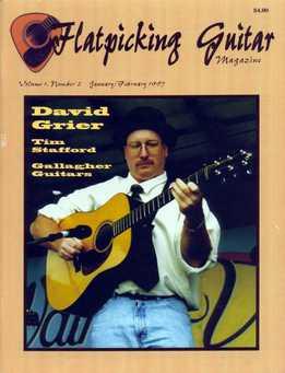 Flatpicking Guitar Magazine Vol. 1, Number 2