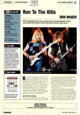 Pete Callard - Iron Maiden - Run To The Hills