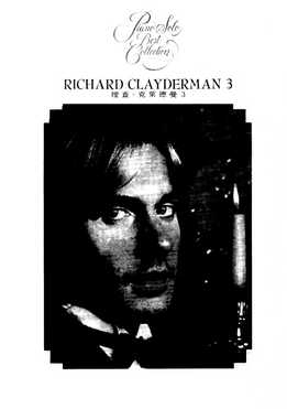 Richard Clayderman - Piano Solo Best Collection 3