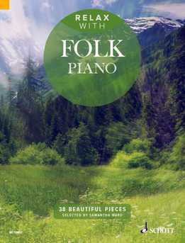 Samantha Ward - Relax With Folk Piano - 38 Beautiful Pieces