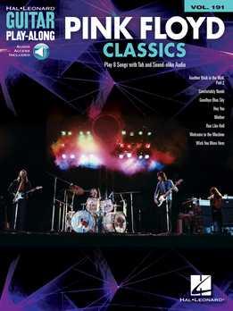 Guitar Play-Along Vol. 191 - Pink Floyd Classics