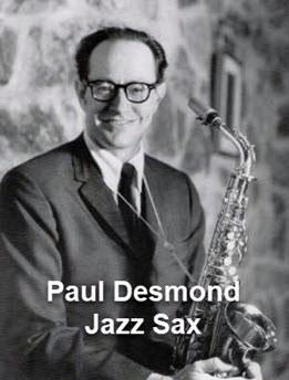 Paul Desmond - Jazz Sax