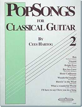 Cees Hartog - Famous Pop Songs For Classical Guitar Vol. 2