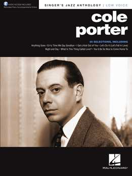 Cole Porter - Singer's Jazz Anthology - Low Voice