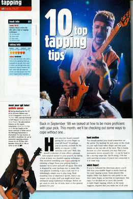 Guthrie Govan - 10 Top Tapping Tips