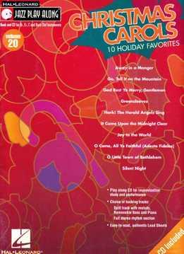 Jazz Play-Along Vol. 20 - Christmas Carols