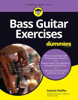 Patrick Pfeiffer – Bass Guitar Exercises For Dummies (New Edition)
