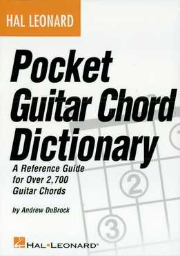 Andrew DuBrock - Pocket Guitar Chord Dictionary