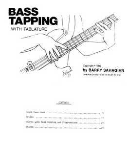 Barry Sahagian - Bass Tapping