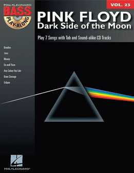 Bass Play-Along Vol. 23 - Pink Floyd - Dark Side Of The Moon