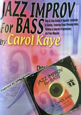 Carol Kaye - Jazz Improv For Bass