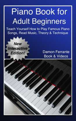 Damon Ferrante - Piano Book For Adult Beginners