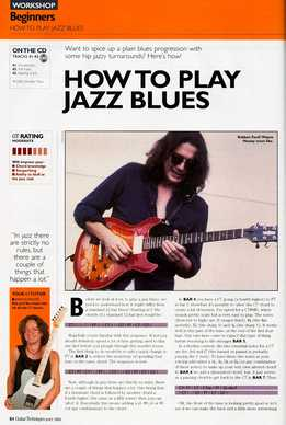 Dave Kilminster - How To Play Jazz Blues