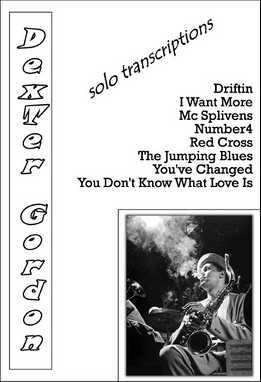 Dexter Gordon - Solo Transcriptions