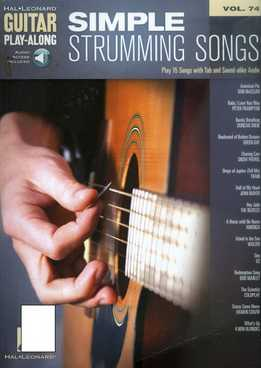 Guitar Play-Along Vol. 74 - Simple Strumming Songs