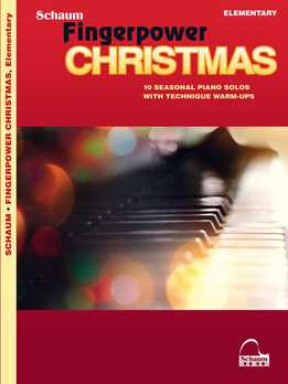 James Poteat - Fingerpower Christmas - 10 Seasonal Piano Solos With Technique Warm-Ups Elementary Level