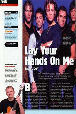 Jamie Humphries - Bon Jovi - Lay Your Hands On Me