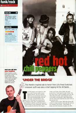 Jamie Humphries - Red Hot Chili Peppers - Under The Bridge