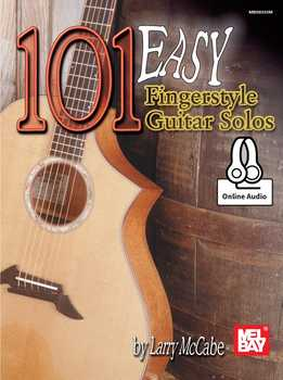 Larry McCabe - 101 Easy Fingerstyle Guitar Solos